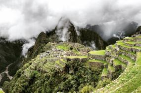 Hiker's Journey to Machu Picchu