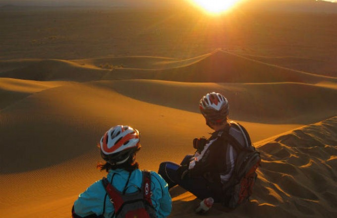 Morocco Biking tour