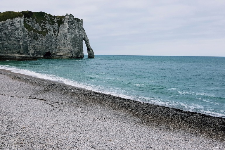 Beach view at Normandy, Europe_P