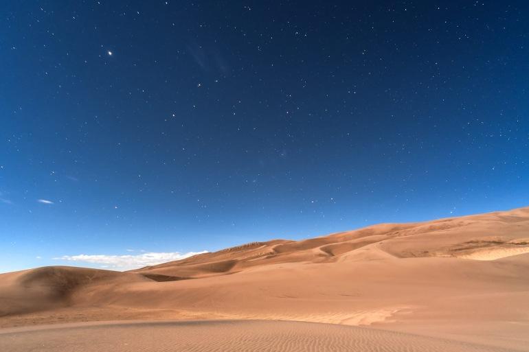 Adventurous Barren desert, South Africa