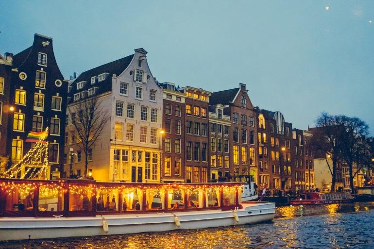 Awesome cruise on canal, Netherlands