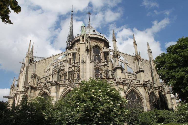 Gothic Building Notre Dame, France