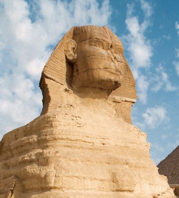 Sphinx of Giza in Egypt