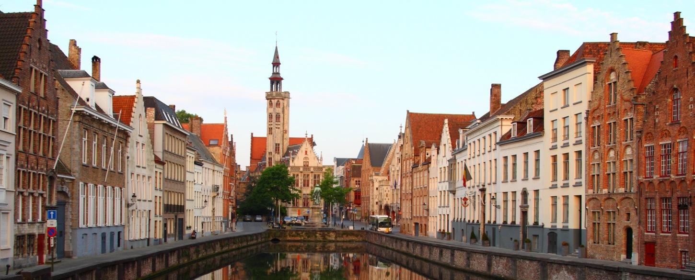 Touring Bruges in Belgium