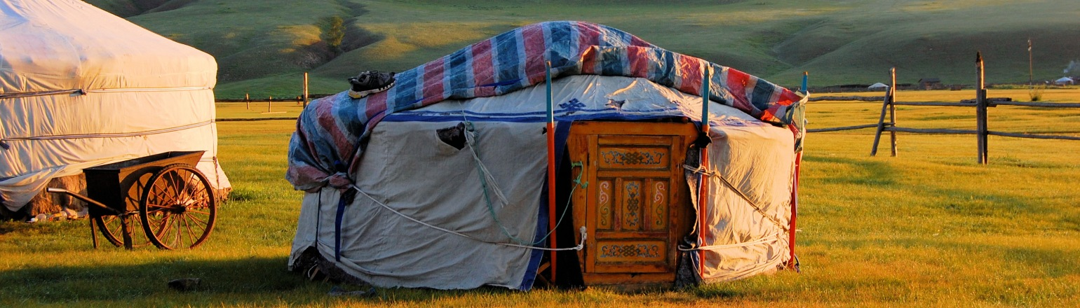 Traditional home in Mongolia teaching Education & Learning tours