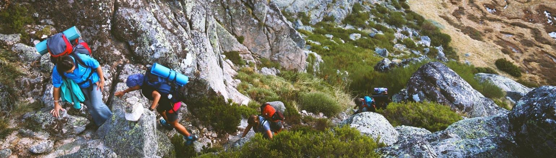 Climbing & Mountaineering group trip high adventure