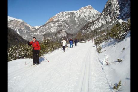 Cross-country Skiing Dobbiaco tour