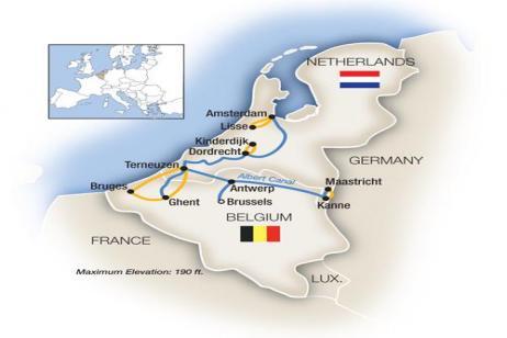 Belgium & Holland in Spring - Northbound 2018 tour