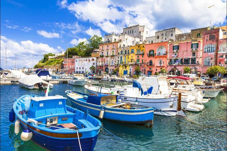 Amalfi Coast Blue Grotto Sail Italy: Amalfi to Procida Trip