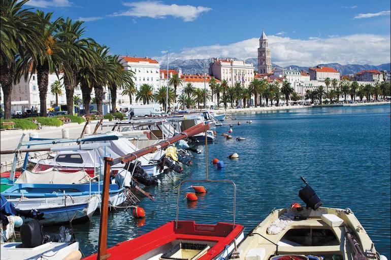 Croatia Diocletian's Palace One Week Sailing Split to Dubrovnik Trip