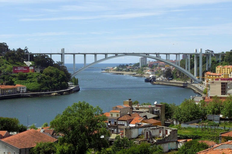 Town view of Porto, Portugal