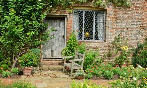 English Country Garden, Kent, England