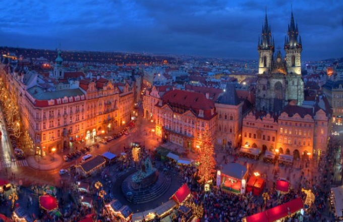 Christmastime Prague to Basel - Westbound tour