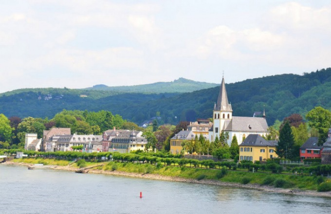 Legends of the Rhine tour