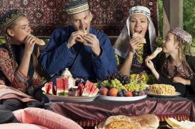 Enjoying Legendary Uzbek Hospitality