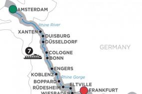 Active Discovery on the Rhine  Southbound
