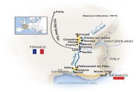 French Escapade: Paris to Monte-Carlo - Southbound 2018