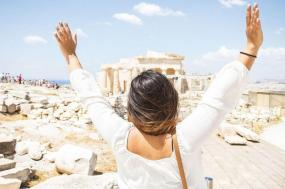 7 Day Greek Island Cruise plus Spotlight on Greece (Standard outside cabin with porthole, start Athens, end Athens)