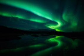 East Greenland's Northern Lights