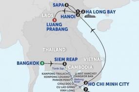 Ultimate Southeast Asia & The Majestic Mekong with Sapa & Luang Prabang - Southbound