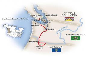 Pacific Northwest 2018 tour