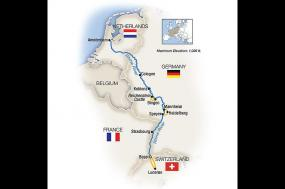 Castles on the Rhine: Family Riverboat Adventure tour