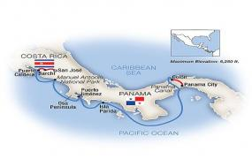 The Panama Canal & Costa Rica - Eastbound 2018 tour