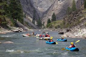 Middle Fork of the Salmon River tour
