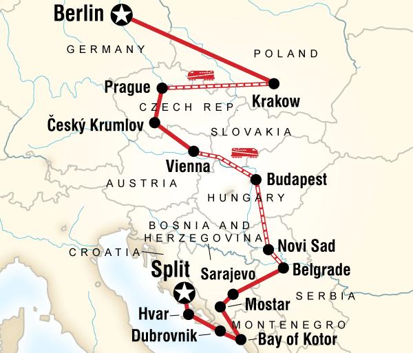Auschwitz Bath Eastern Europe, Croatia & the Balkans Trip