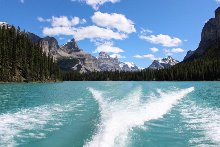 Lake Glacier Wake Mountain-Canada-1449489-P