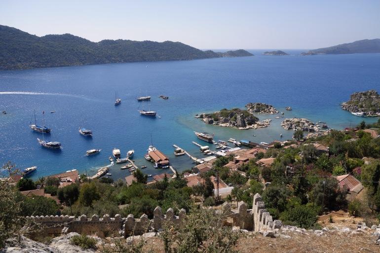8 Days Yacht Charter Antalya - Kekova - Antalya tour