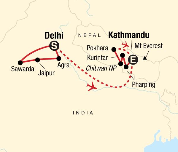 Agra Agra Fort Explore India & Nepal Trip