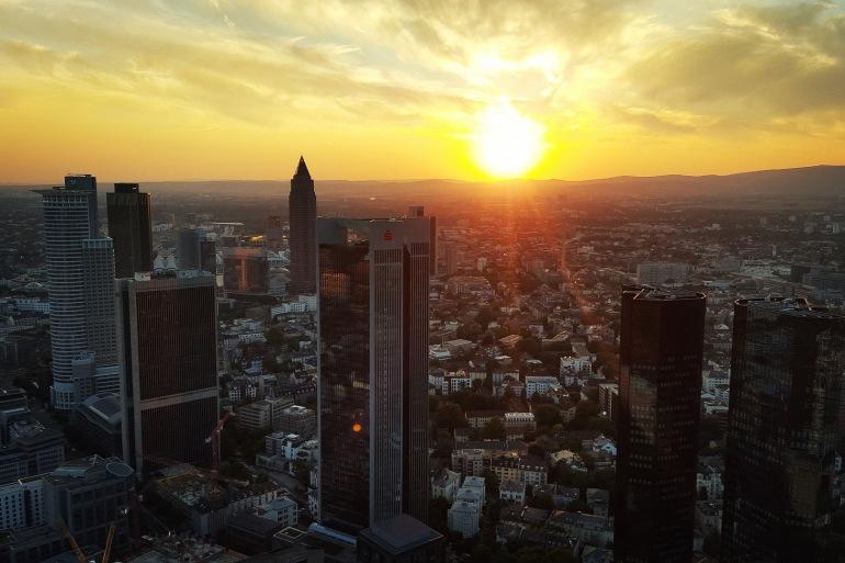 Full View of Frankfurt City- Germany-Europe-1739362-P