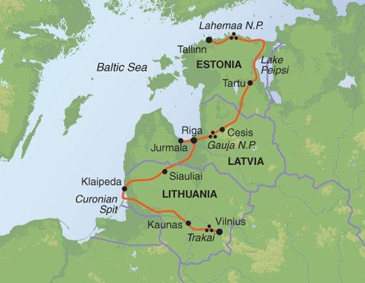 Cultural Culture Discover the Baltics package