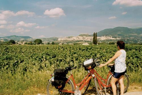 Assisi Perugia Florence to Rome by Bike Trip