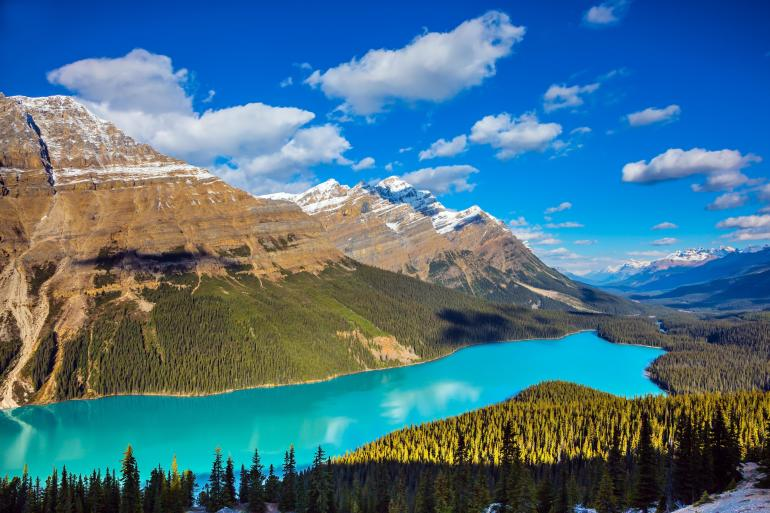 Canadian Rockies by Train  tour
