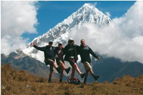 Remote Salcantay & Condoriri tour