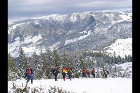 Wild Bulgaria: Winter Walk & Snowshoe tour