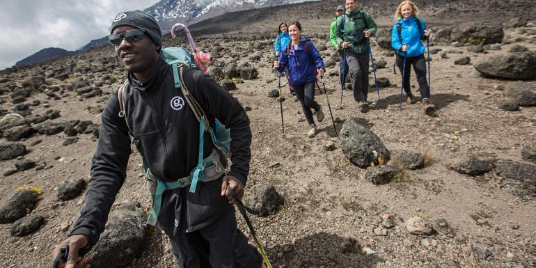 Mt Kilimanjaro Trek - Lemosho Route tour