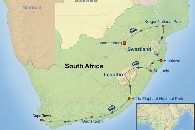 Cape Town Kruger National Park South African Explorer Trip