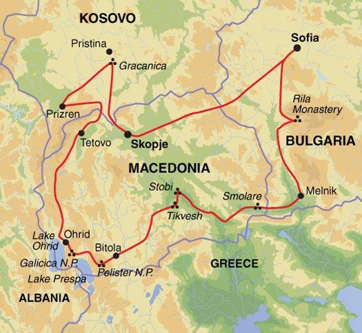 Cultural Culture Balkan Explorer package