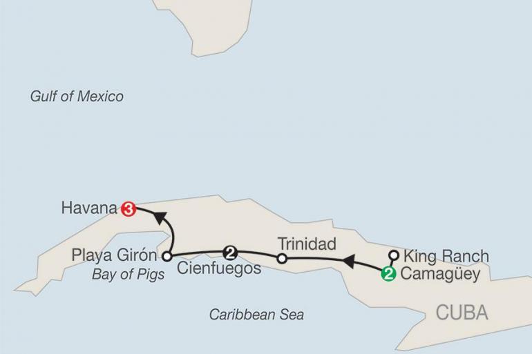 Camaguey Havana Cuba's Charming Colonial Cities & Havana Trip