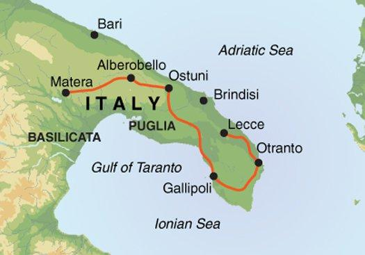 Cycling Cycling Cycling Puglia & Matera package
