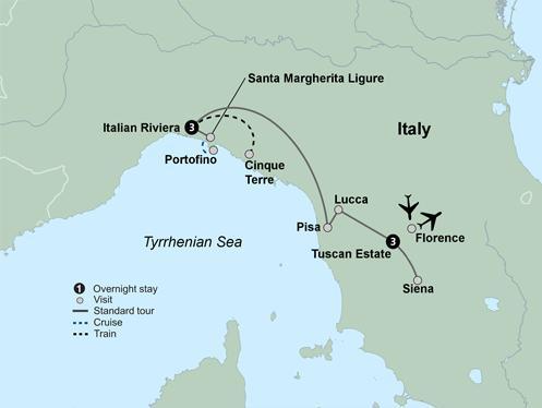 Lucca Pisa Tuscany & the Italian Riviera Trip