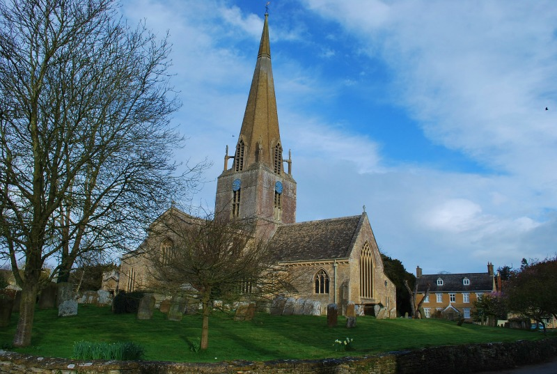 Bampton Village, England