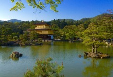 Golden Pavilion Japan tour