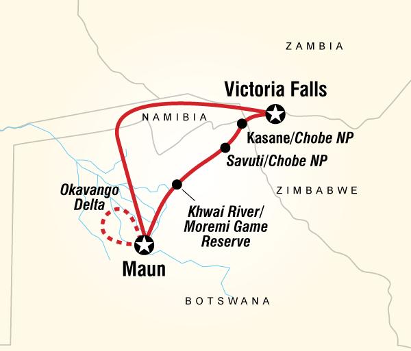 Chobe National Park Maun Botswana Safari Experience Trip
