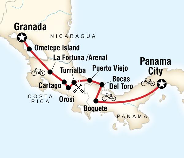Alaska Bocas Del Toro Cycle Central America Trip