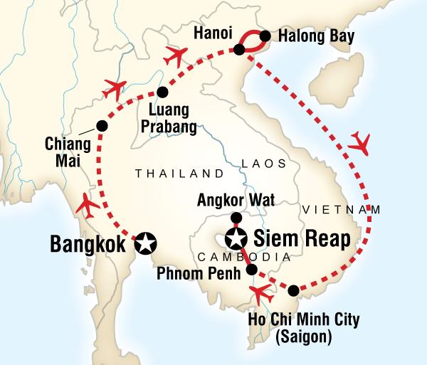 Angkor Wat Bangkok Indochina Explorer Trip