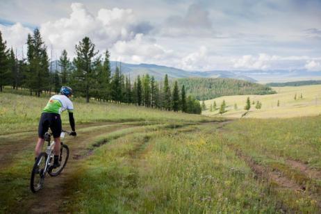 Cycling in Mongolia tour